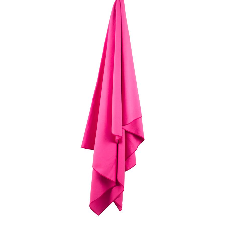 Lifeventure Pink Softfibre Trek Towel - Large