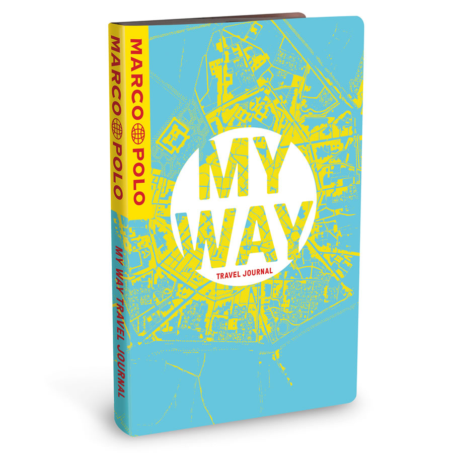 Marco Polo My Way Travel Journal - City Map