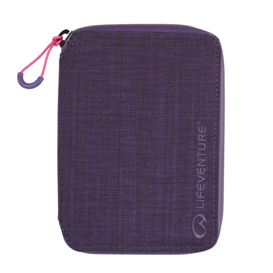 Lifeventure RFID Mini Document Wallet - Purple
