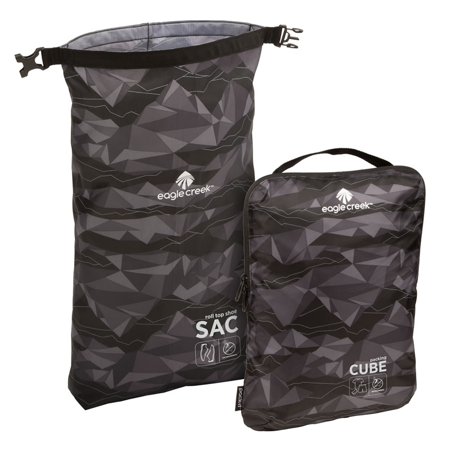 Eagle Creek Pack-It Active Essential Set - Geoscape Black
