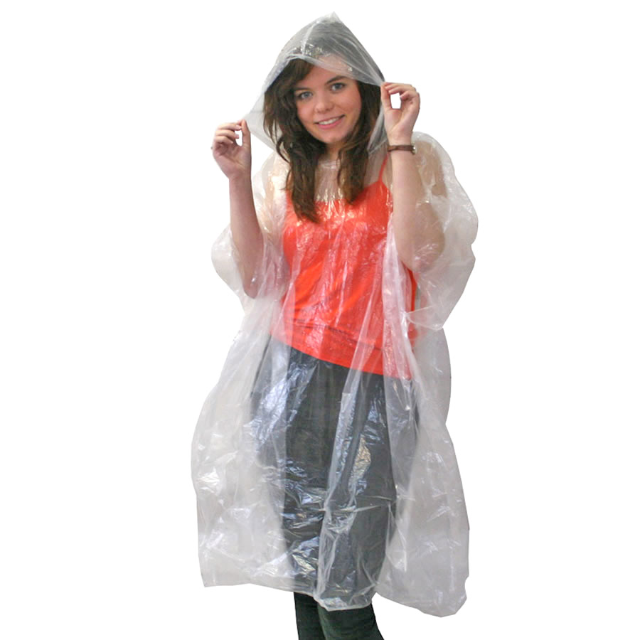 Solotrekk Clear Emergency Poncho