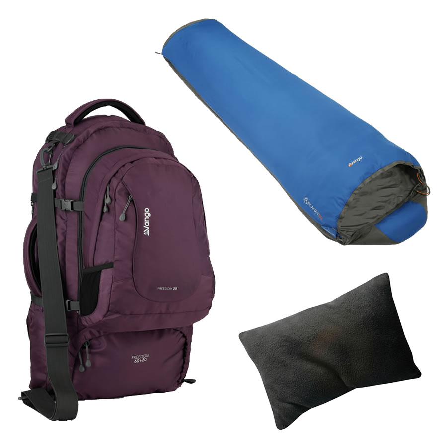 Vango Purple Travel Kit