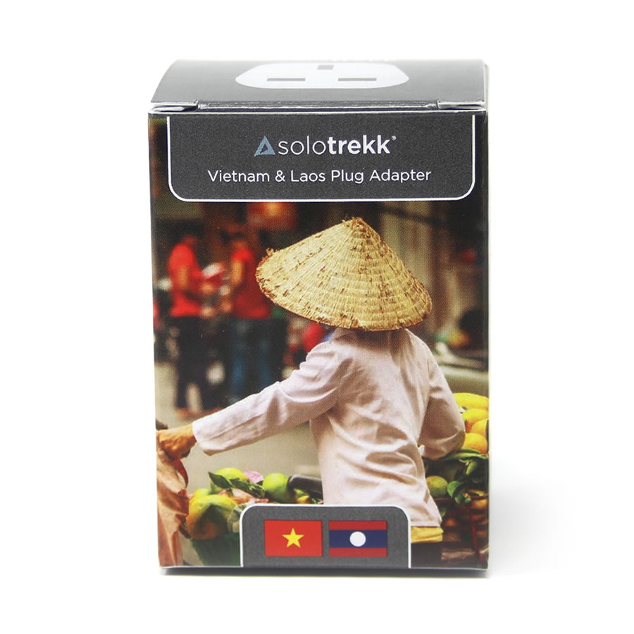 Solotrekk Vietnam & Laos Travel Plug Adapter