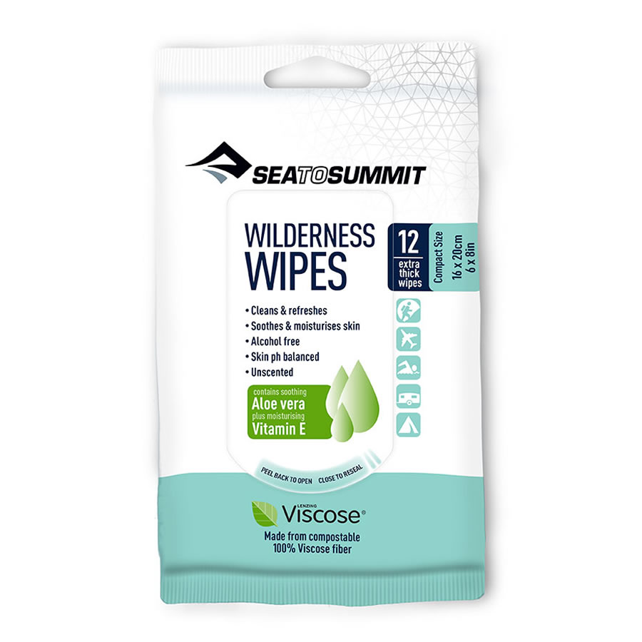 Sea to Summit Wilderness Wipes - Compact