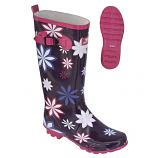 Trespass Flora Ladies Wellies - Purple
