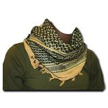 Pro Force Sand/Black Shemagh Scarf