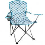 Highlander Blue Swirl Moray Camping Chair