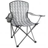 Highlander Mono Print Moray Camping Chair