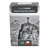 Solotrekk Brazil & Chile Travel Plug Adapter