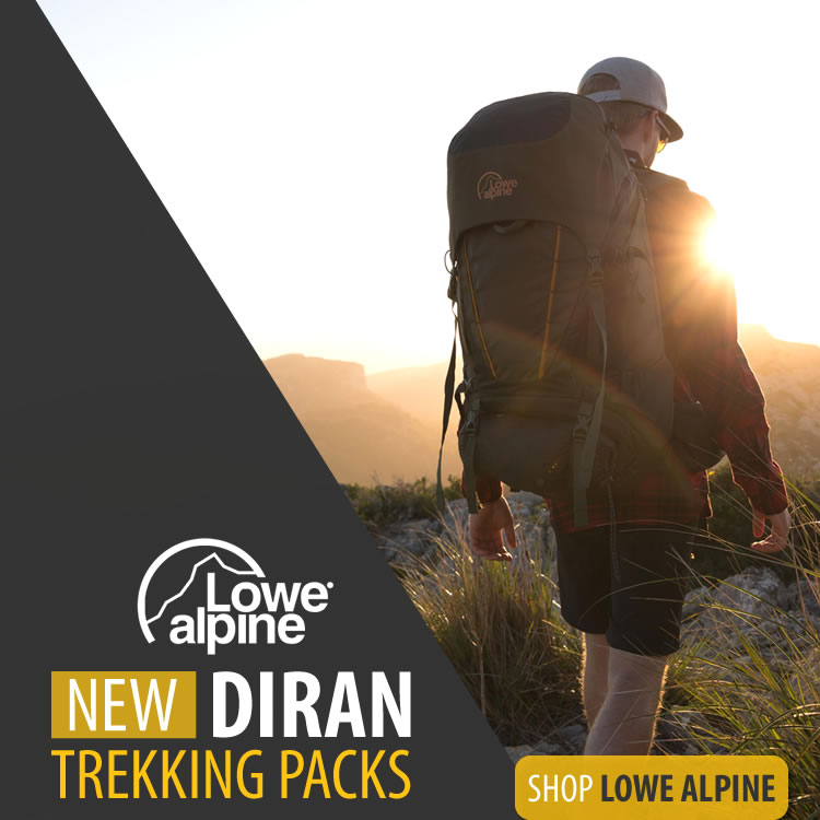 lowe alpine diran trekking packs