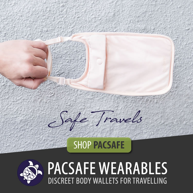 Pacsafe wearables