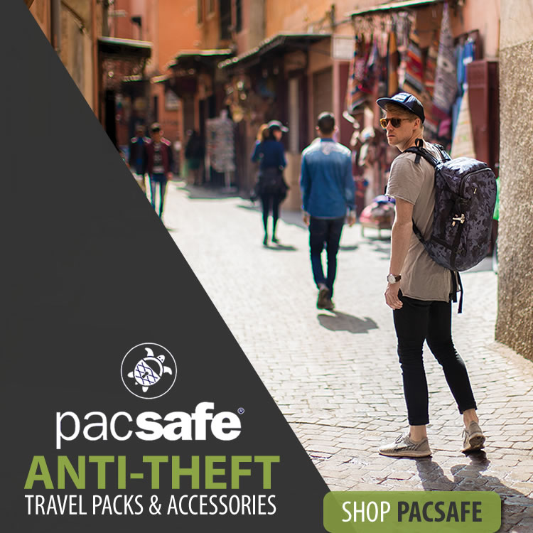 Pacsafe travel security