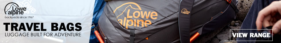 lowe alpine travel bags - view range
